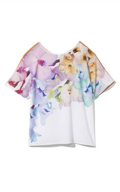 clover canyon floral prism top