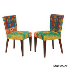 Vintage Kantha Accent Chair (Set of 2)   Overstock.com Shopping - Great Deals on Living Room Chairs