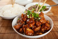 Asian Recipes, Ethnic Recipes, Lemon Chicken, Kung Pao Chicken, Foodies, Food And Drink, Chinese, Orange, Sweet