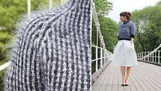 UKAS: Svart-hvitt-genser / Black&WhiteSweater - Pickles - Pickles