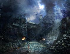 blade and soul environment concept art - Google Search