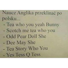 #suchar #codzienny #sucharcodzienny Polish Language, My Tea, Funny Pictures, Funny Pics, Haha, Funny Memes, Stress, Wattpad, Humor