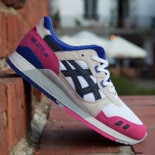 asics GEL LYTE III   WHITE/BLACK