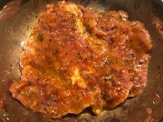Marynowane kotlety schabowe - Blog z apetytem