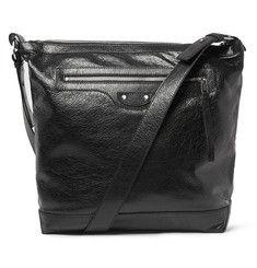Balenciaga - Creased-Leather Messenger Bag