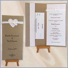 Wedding Invitations rustic with heart- Devereux Creative | Toowoomba | Cambooya
