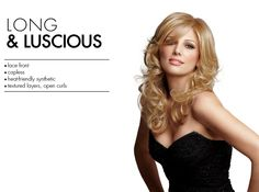 Long & Luscious wig at Wigs.com from @DaisyFuentes' @tessbeautysupply #wig collection