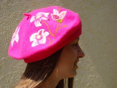 CUTE HOT PINK  by Vickie Wade on Etsy