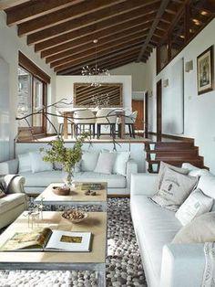 Post: Estilo rústico renovado para una casa en La Cerdanya ---> blog interiores decoración, casas de campo modernas, casas de montaña modernas, decoración de comedores, Decoración de interiores, decoración de salones, decoración rústica moderna, estilo rústico nórdico, estilo rústico renovado