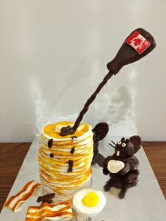 Great Canadian Cake - Breakfast With Beavers