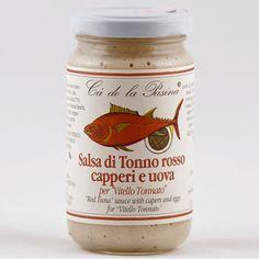 Salsa di tonno rosso, capperi e uova. Scopri e prova tutte le altre salse su: www.demarca.it