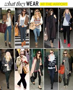 LOOK- Aeropuerto !  Airport outfits