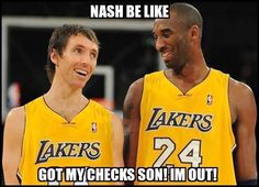 Steve Nash is OUT for The Season.....His Careers Done