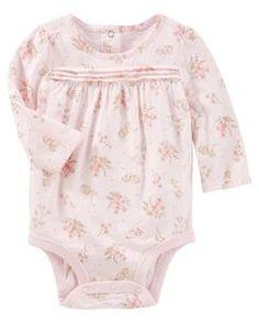 Floral Sparkle Bodysuit