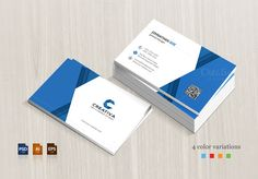Corporate Business Card by BettyDesign on https://creativemarket.com/BettyDesign/623503-Corporate-Business-Card