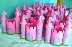 Resultado de imagem para centro mesa festa princesa