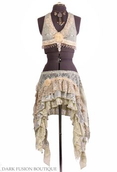 Halter, A or B Cup, Light Green, Cream, Nude, Sepia, Noir, Bellydance, Dance, Costume, Tribal, Fusion, Vintage Style, Gothic. $93.00, via Etsy.