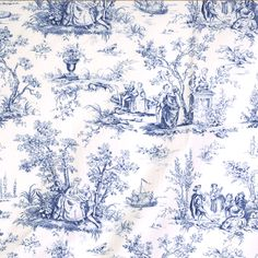 Also, love anything in blue toile.
