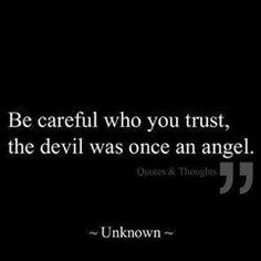 Trust no one ~
