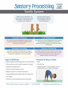 Our team of therapists created Occupational Therapy Infographic Sheets that target individual OT goals and incorporate unique learning style. Sensory Disorder, Sensory Processing Disorder, Pediatric Occupational Therapy, Pediatric Ot, Sensory Integration Therapy, Therapy Activities, Ot Therapy, Hand Therapy, Autism Sensory
