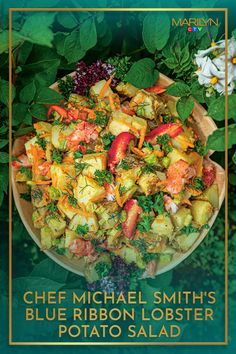 It's the ultimate taste of the east coast. Chef Michael Smith, Yukon Gold Potatoes, Blue Ribbon, Summer Salads, Salad Dressing, East Coast, Salad Recipes, Potato Salad, Side Dishes