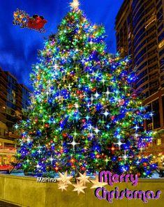 Animated Christmas Tree, Merry Christmas Gif, Food Poster Design, Holiday Decor, Home Decor, Decoration Home, Room Decor, Home Interior Design, Home Decoration