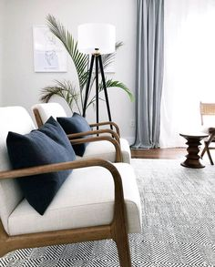 Shop The Look: Mid-Century Living Room Decor Discover the best modern living room design with us! Mid Century Modern Living Room, Living Room Modern, Home And Living, Living Room Designs, Small Living, Mid Century Modern Table, Chandelier In Living Room, Living Room Lighting, Modern Bedroom Design