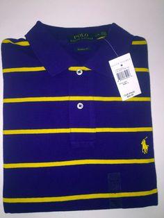 Wholesale 6PCS Ralph Lauren Fashion Men's Big Pony Polo