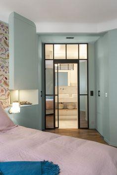 70m² - Paris 18e aménagé et décoré par la décoratrice d'intérieur Vanessa Faivre