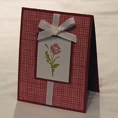 Simple & Easy card, perfect for any style, image or age!