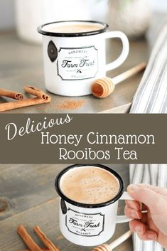 Delicious Honey Cinnamon Rooibos Tea Recipe | Rooibos Tea | Warm Winter Rooibos Tea Drink #rooibostea #rooibos #rooibosdrink