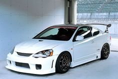 The Honda Integra DC5 is a Japanese achievement sports car, which was additionally accepted as the...