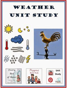 Weather Unit Study containing links to FREE resources on the web and YouTube…