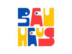 Bauhaus by Rafael Serra Typography Letters, Typography Poster, Lettering, Logo Design Tutorial, Design Tutorials, Bauhaus Logo, Youtube Logo, Beautiful Handwriting, Festival Flyer