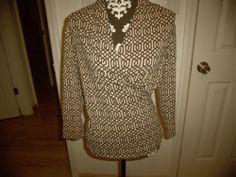 J MCLAUGHLIN BAMBOO Blouse Top Size XS #16859