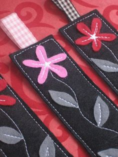 Bookmarks | I made these bookmarks for a swap in swap-bot, u… | Flickr