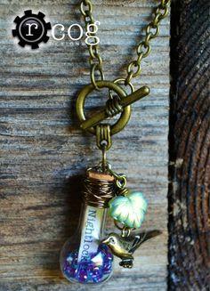 Hunger Games Bottle Necklace