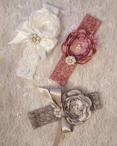 """Mi piace"": 32, commenti: 2 - Treasured Lace (@treasuredlace) su Instagram: ""A little collection of headbands. 0-6 months. These can be made to fit any baby/toddler head size.…"""