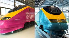 With the support of Alstom and Eurostar, two Eurostar power cars are donated to the National College for High Speed Rail (NCHSR). The college has two campuses, one in Doncaster and one in Birmingha…