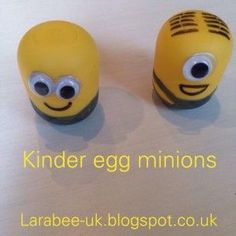 Kinder Egg Minions – Guest Post