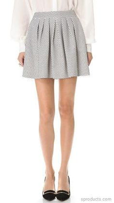 Rachel Zoe Jacquelyn Pleated Skirt on Sproducts — Share products with friends