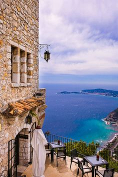 Eze is a beautiful hilltop medieval village in the south of France, between Monaco and Nice. The village is famous for its spectacular views, impressive architecture, and stunning geographical location above the French Riviera. Eze France, South Of France, France Europe, Villefranche Sur Mer, France Photography, Beautiful Places To Travel, Romantic Travel, Monaco, French Riviera