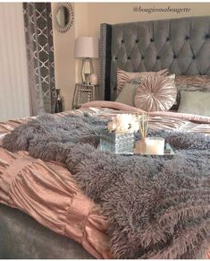 Ideas For Bedroom Master Relaxing Decorating Ideas Teen Bedroom Designs, Room Ideas Bedroom, Bedroom Themes, Home Bedroom, Bedroom Decor, First Apartment Decorating, Cute Room Decor, Luxurious Bedrooms, My New Room