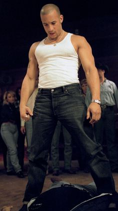 Vin Diesel - He can defend my honor any day!
