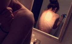 [Me] #thinspooo #anorexia #bulimia #skinny #mypic #fat