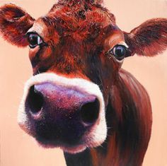 Buy original paintings of cows at Cows on Canvas