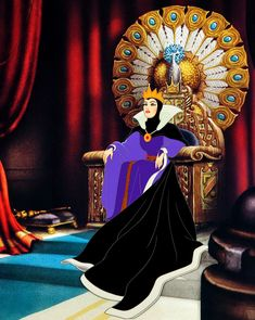 The original Disney villain:The Evil Queen from Snow White and the Seven Dwarfs (1937)