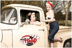 rockabilly girls Pin up http://thepinuppodcast.com/