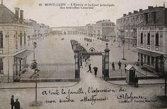 Antique French Postcard of the Army Barracks in by ChicEtChoc, $4.50