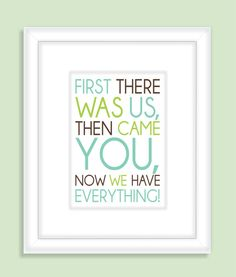 Children's Quote Nursery Wall Art  Print by FieldandFlower on Etsy,